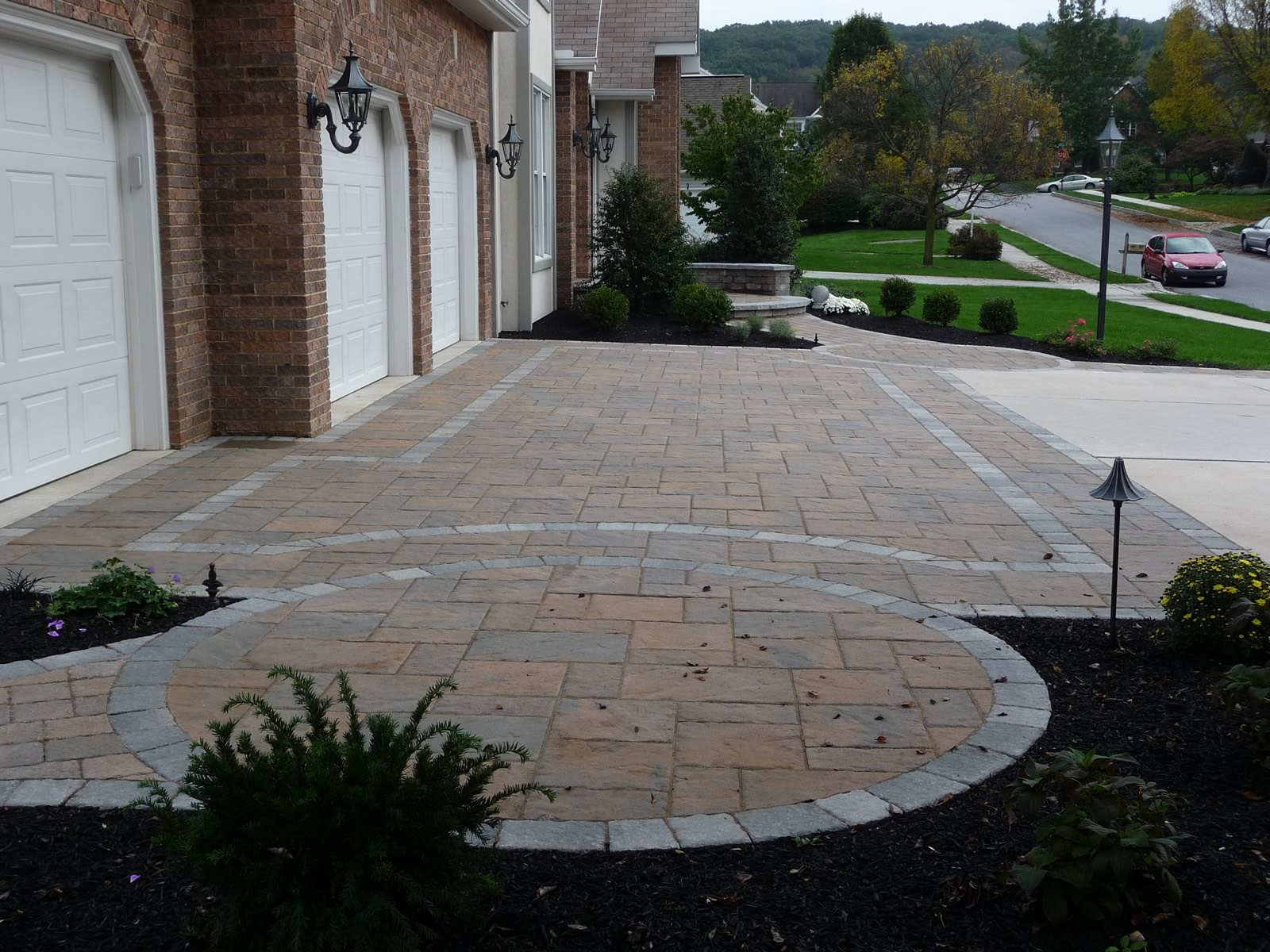 38 Homes That Turned Their Front Lawns Into Beautiful: Landscape Construction New Cumberland & Mechanicsburg